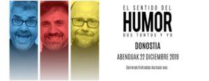 el show de El sentido del humor llega a San Sebastian con Jose Mota, Santiago Segura y Flo, en el 20 aniversario del palacio de congresos kursaal de san sebastian
